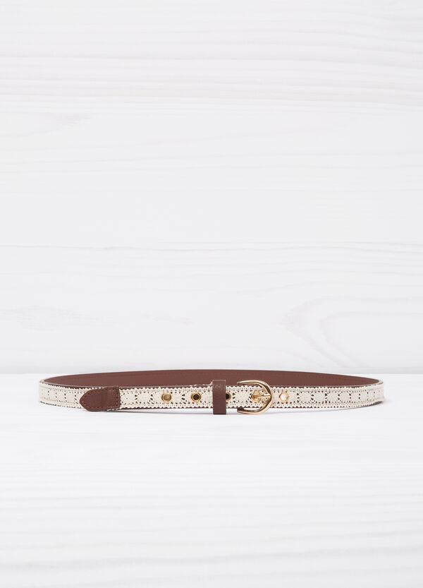 Cintura con inserto a contrasto | OVS