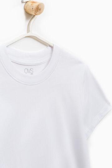 Pack de dos camisetas interiores en algodón 100%, Blanco, hi-res