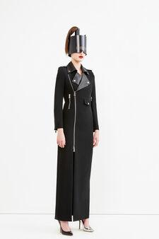 Biker dress, Jean Paul Gaultier for OVS, Black, hi-res