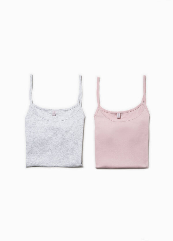 Two-pack cotton under tops | OVS