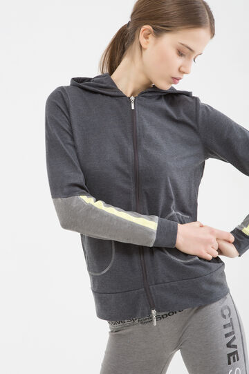 Stretch gym hoodie