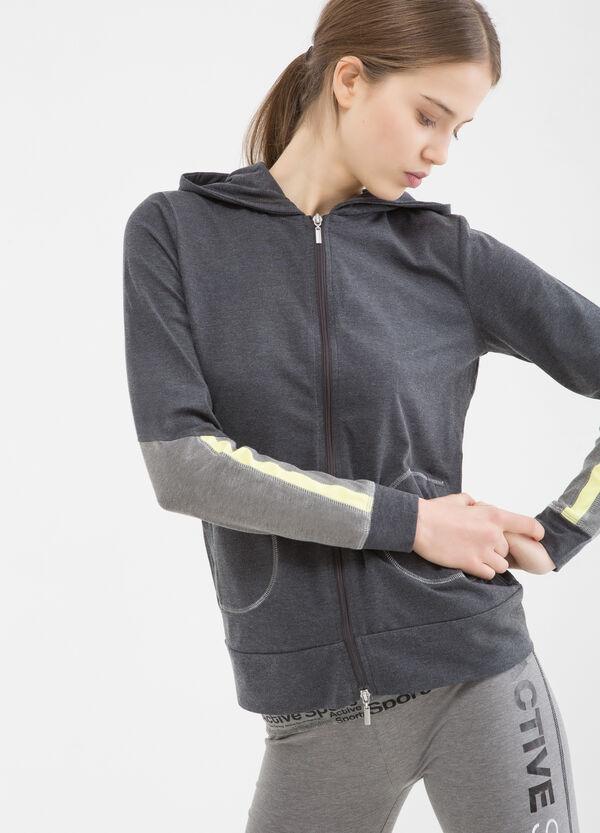 Stretch gym hoodie | OVS