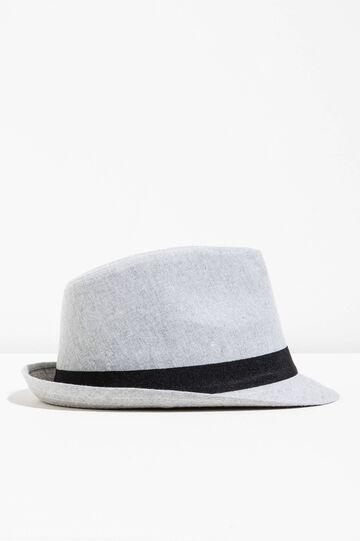 Cappello a falda larga in cotone