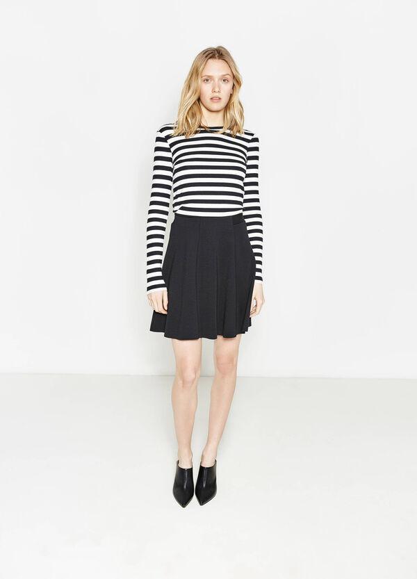 Falda elástica de talle alto | OVS