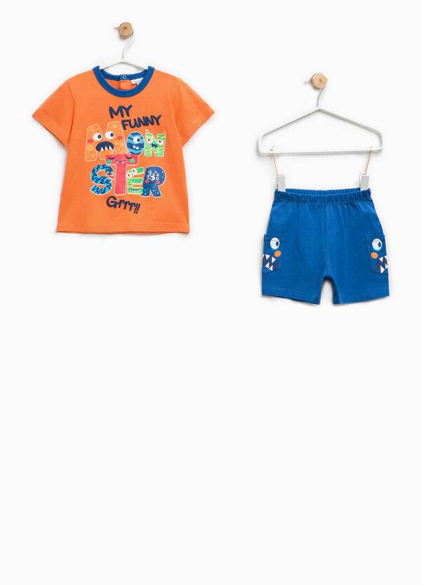 100% Biocotton pyjamas with pockets | OVS