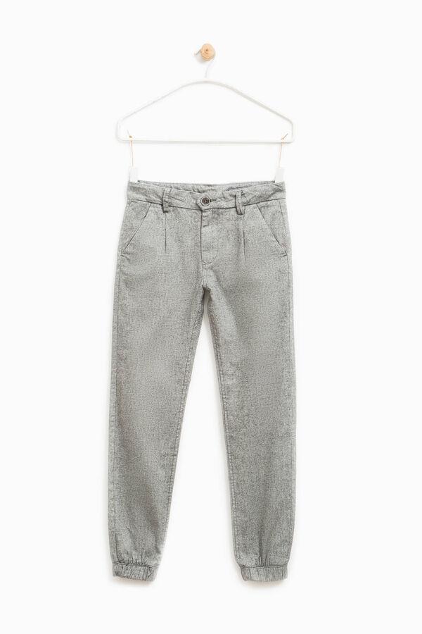 Pantaloni puro cotone mélange | OVS