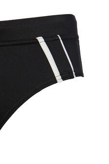 Stretch swim briefs with drawstring waist., Black, hi-res
