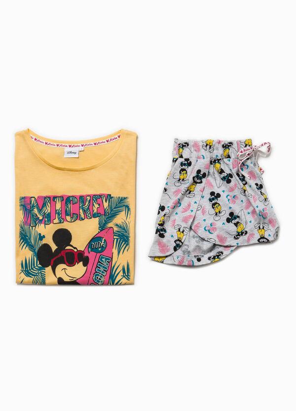 Short-sleeved Mickey Mouse pyjamas   OVS