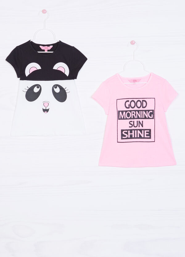 Two-pack 100% cotton T-shirts | OVS