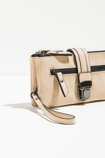Textured-effect purse