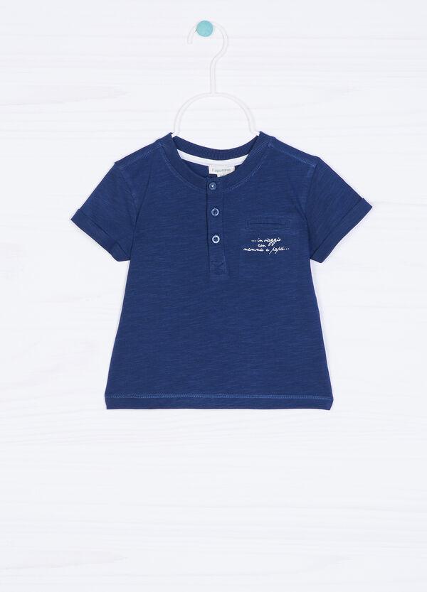 T-shirt puro cotone stampa lettering | OVS