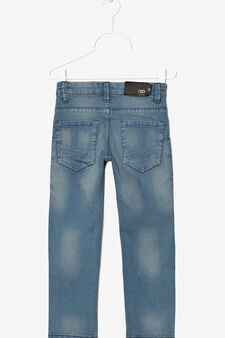 Ombré effect jeans., Light Blue, hi-res