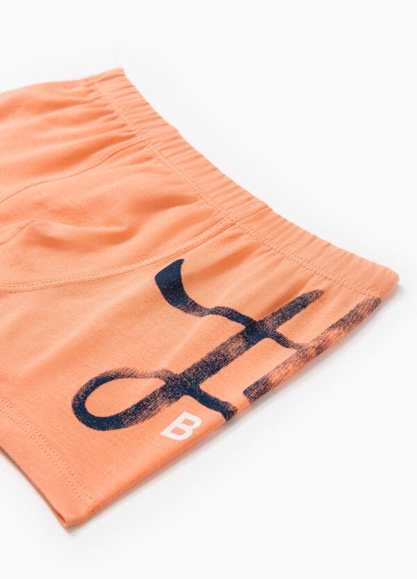Boxer cotone stretch tinta unita | OVS