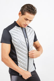 OVS Active Sport Training gilet, Grey/Silver, hi-res