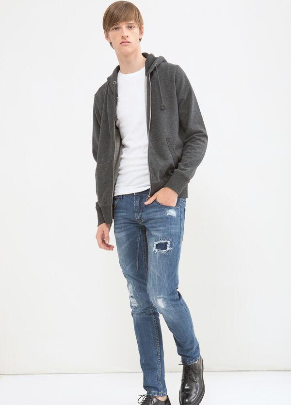 Sweatshirt in cotton with print | OVS