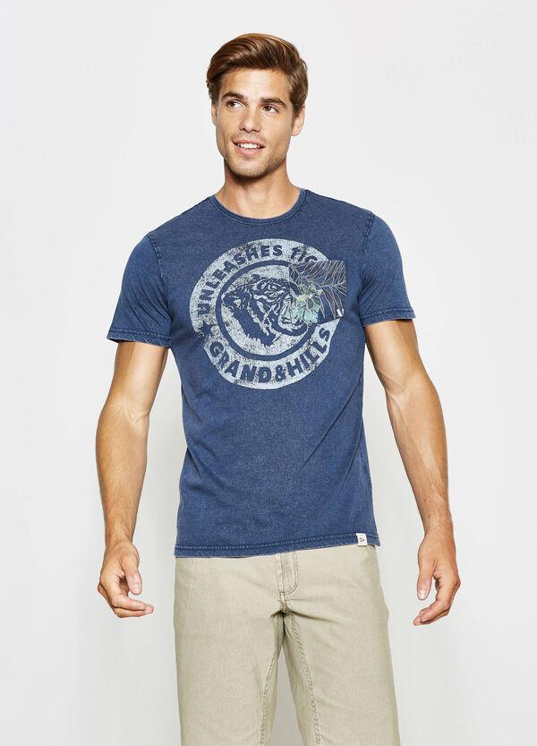 T-shirt stampata con taschino G&H | OVS