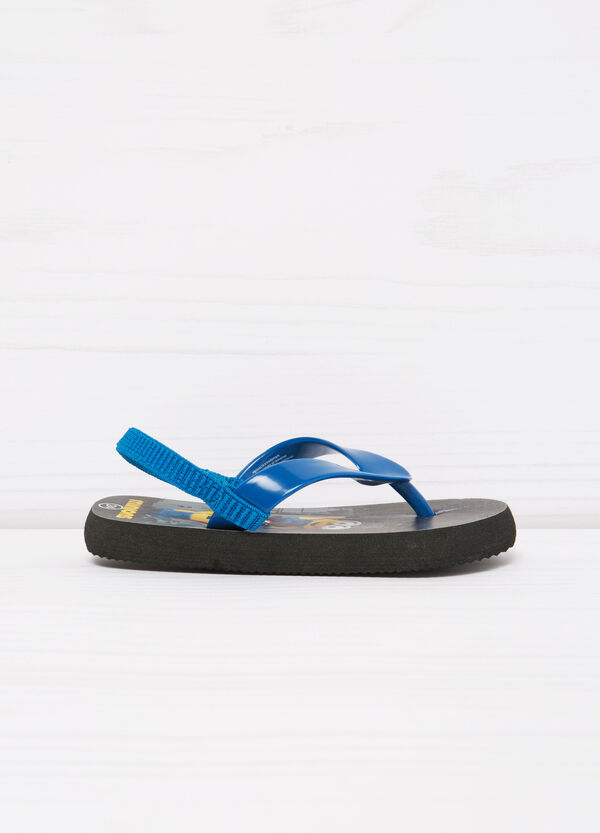 Thong sandals with Minions print | OVS