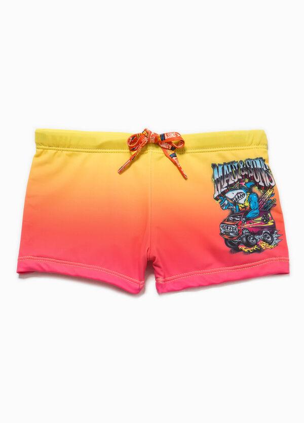 Degradé swim boxer shorts by Maui and Sons   OVS