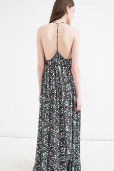 Dress OVS Arts of Italy, S.Maria Cosmedin, Green, hi-res