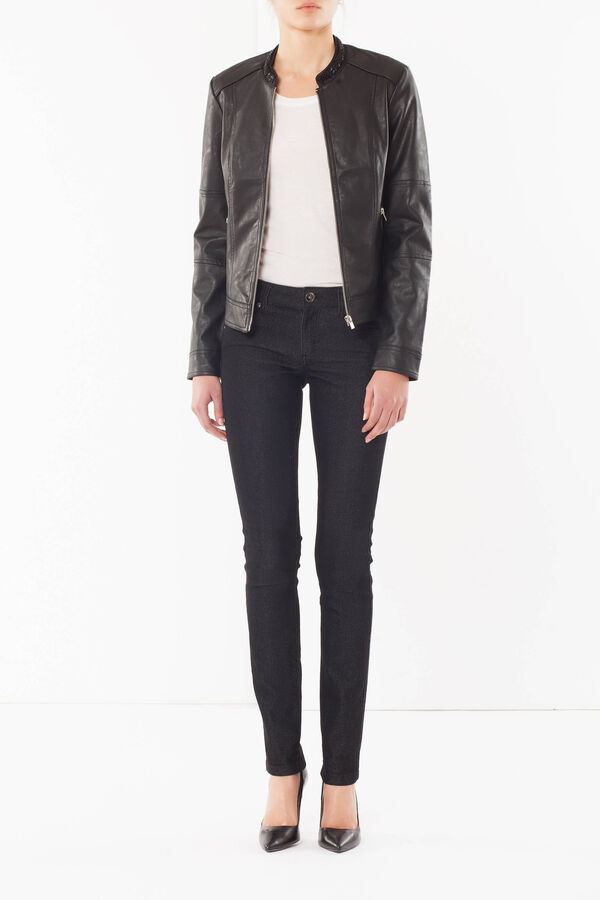 Faux leather jacket | OVS
