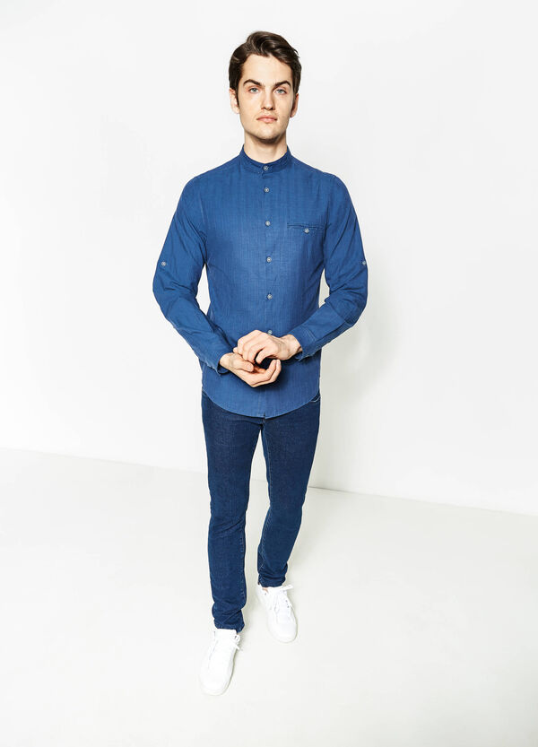 G&H 100% cotton casual shirt | OVS