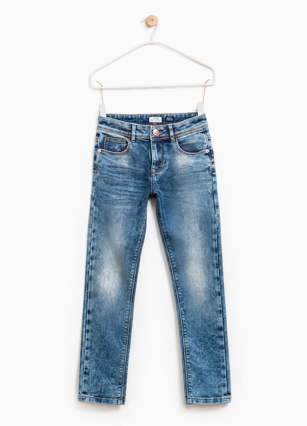 Jeans stretch effetto used | OVS