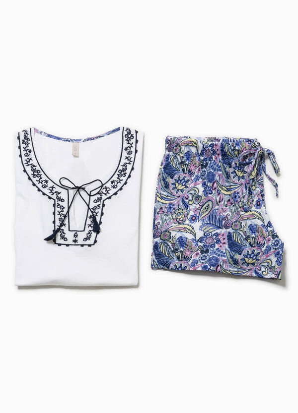Pijama con bordados | OVS