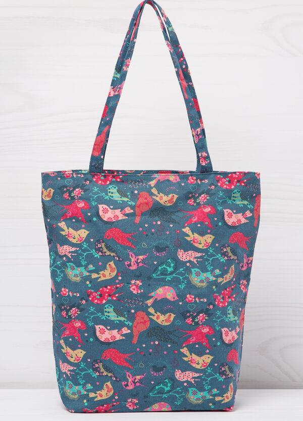 Patterned shopping bag | OVS