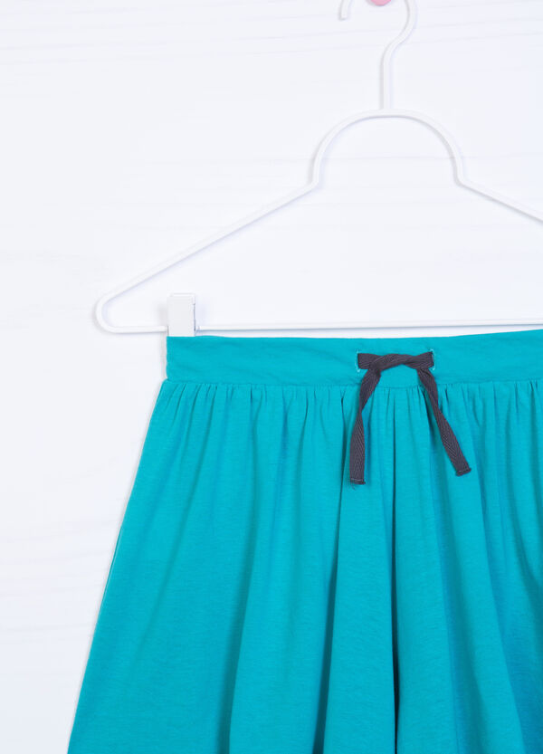 Cotton blend culottes | OVS