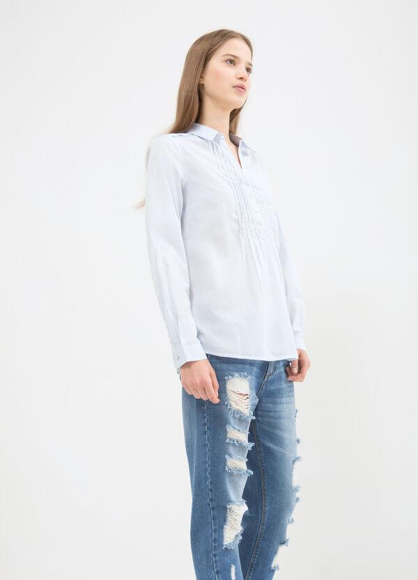 Blusa puro cotone tinta unita | OVS