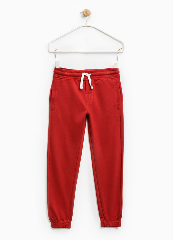 100% cotton joggers with pockets | OVS