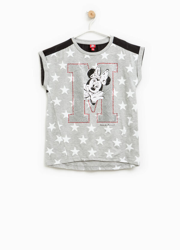 T-shirt with stars pattern and Minnie Mouse print | OVS