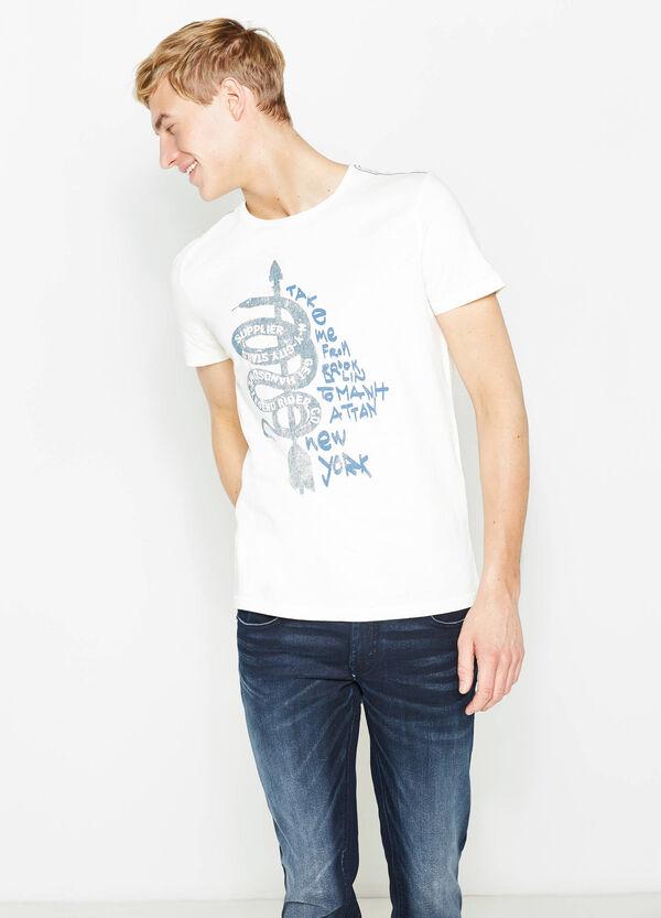 Camiseta de algodón con estampado G&H | OVS