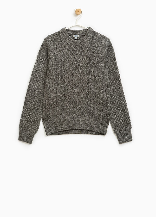 Pullover misto lana tricot | OVS