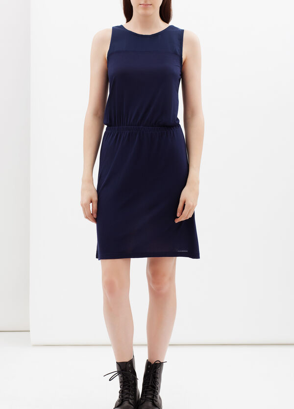 Short dress with elastic waist band | OVS
