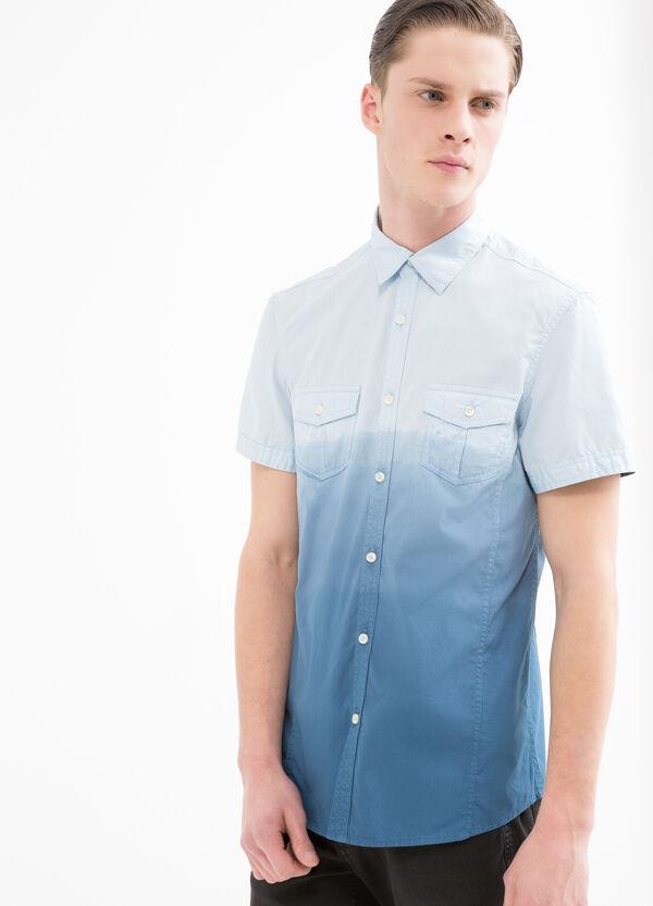 G&H 100% cotton degradé shirt | OVS