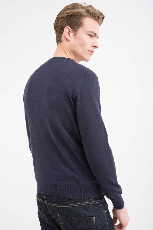 Pullover puro cotone scollo V | OVS