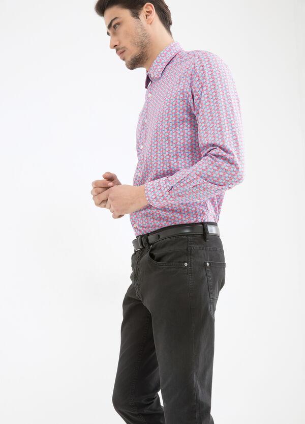 Camicia fantasia puro cotone | OVS