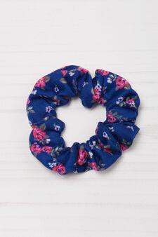 Striped pattern hair band, Dark Blue, hi-res