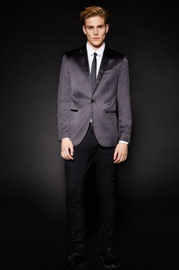 OVS Black Minimal Jacket, Black, hi-res