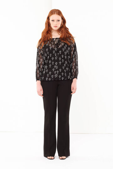 Curvyglam patterned blouse