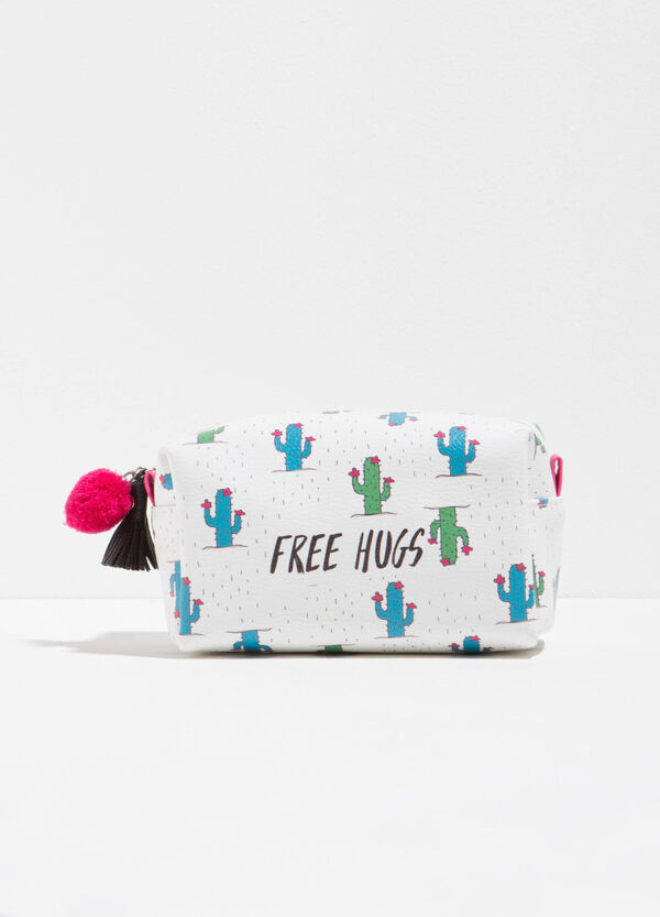 Beauty bag with cactus pattern | OVS