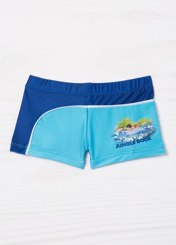 Disney print stretch swim boxer shorts   OVS