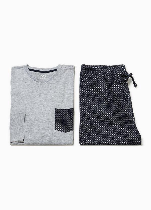 100% cotton pyjamas with geometric pattern | OVS