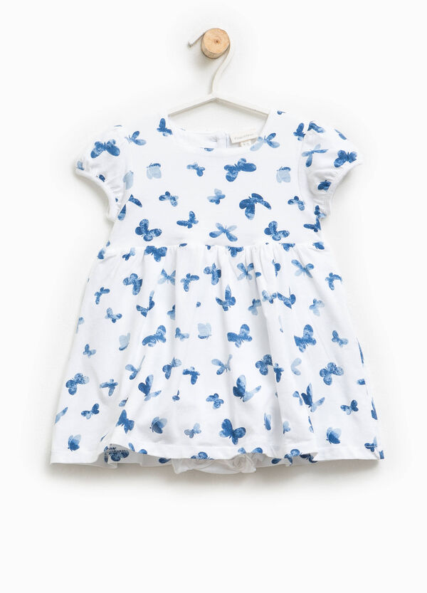 Dress romper suit with butterfly pattern | OVS