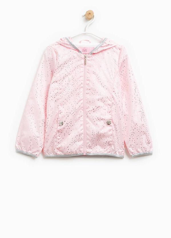 Shiny polka dot patterned jacket | OVS