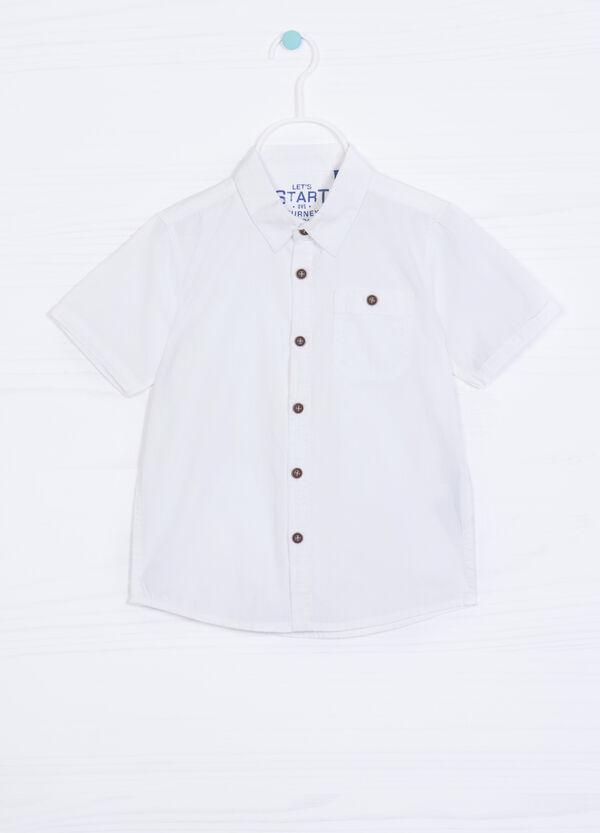 Camicia puro cotone tinta unita | OVS