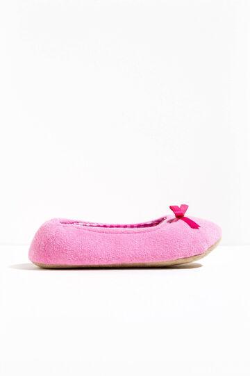 Terry ballerina slippers