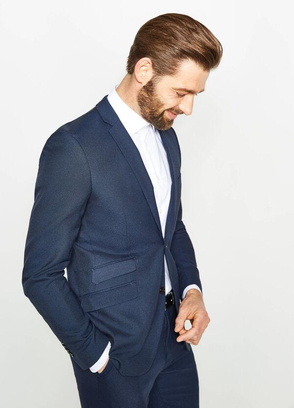Custom-fit suit in stretch viscose | OVS