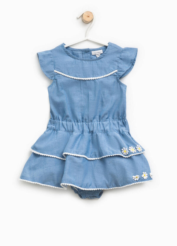 Demin dress romper suit | OVS